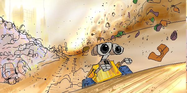 WALL-E by NoBullet
