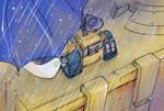 Wall-E and EVE- Rain