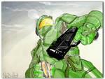 Halo 3 teaser artpad
