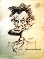 ABRAHAM LINCOLN by lorenzowalkes