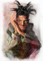 Jean Michel Basquiat, by Stephen Lorenzo Walkes by lorenzowalkes