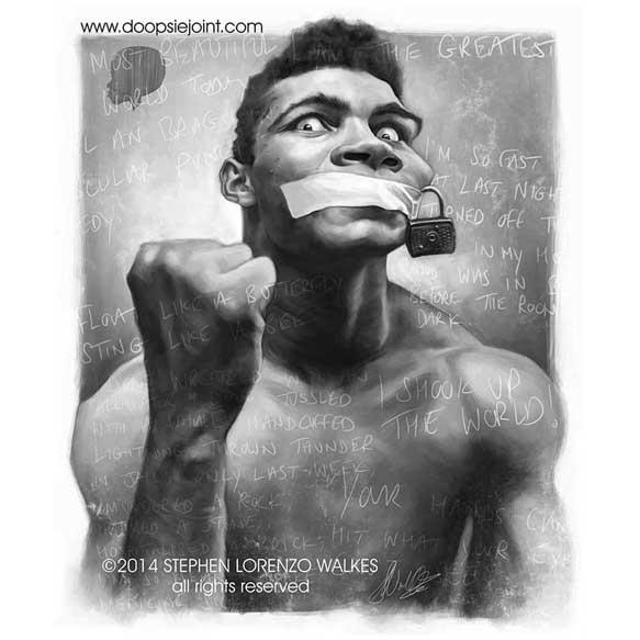 Muhammad Ali by Stephen Lorenzo Walkes