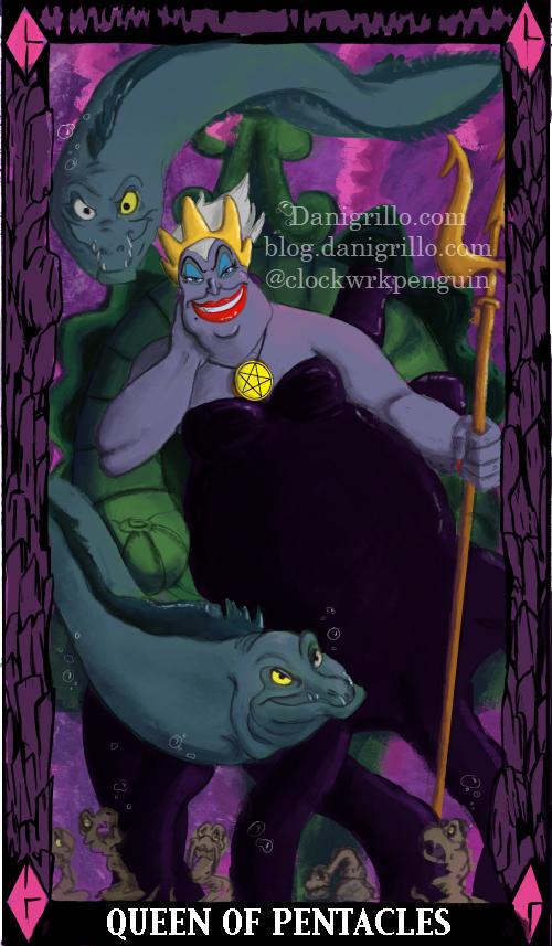 Queen of Pentacles by DaniGrillo