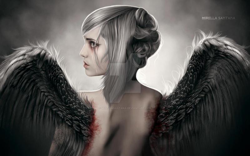 Tears of an Angel III by MirellaSantana
