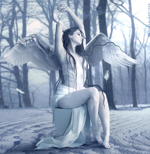 Silence of the Angels by MirellaSantana