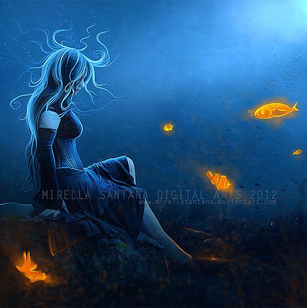 GOLDFISH by MirellaSantana