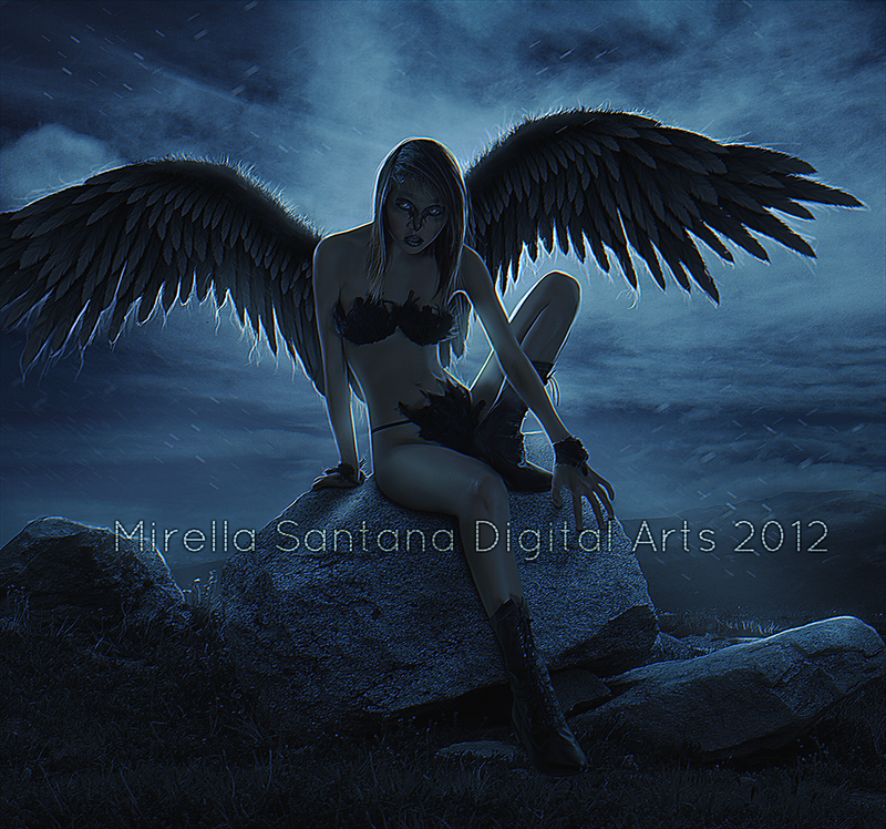 ANGEL IN THE NIGHT by MirellaSantana