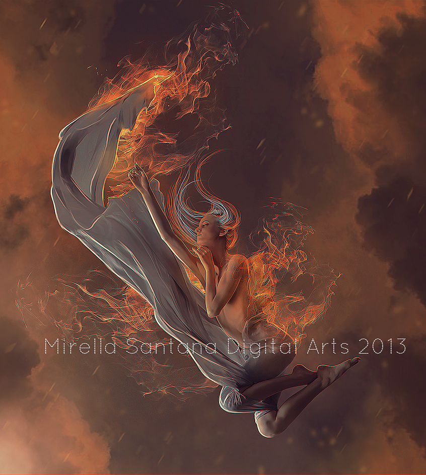 ANGEL OF FIRE by MirellaSantana