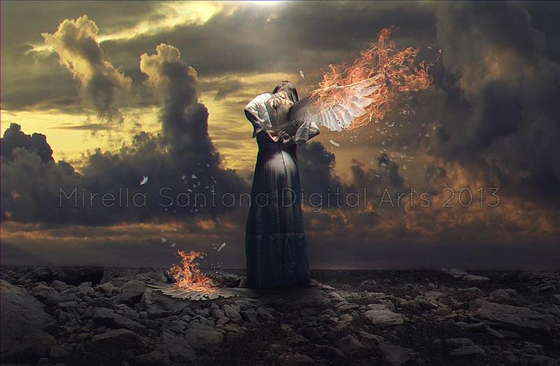 WHEN ANGELS DESERVE TO DIE by MirellaSantana