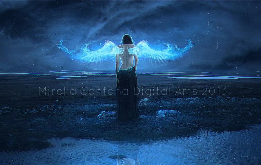 ANGEL OF LIGHT by MirellaSantana