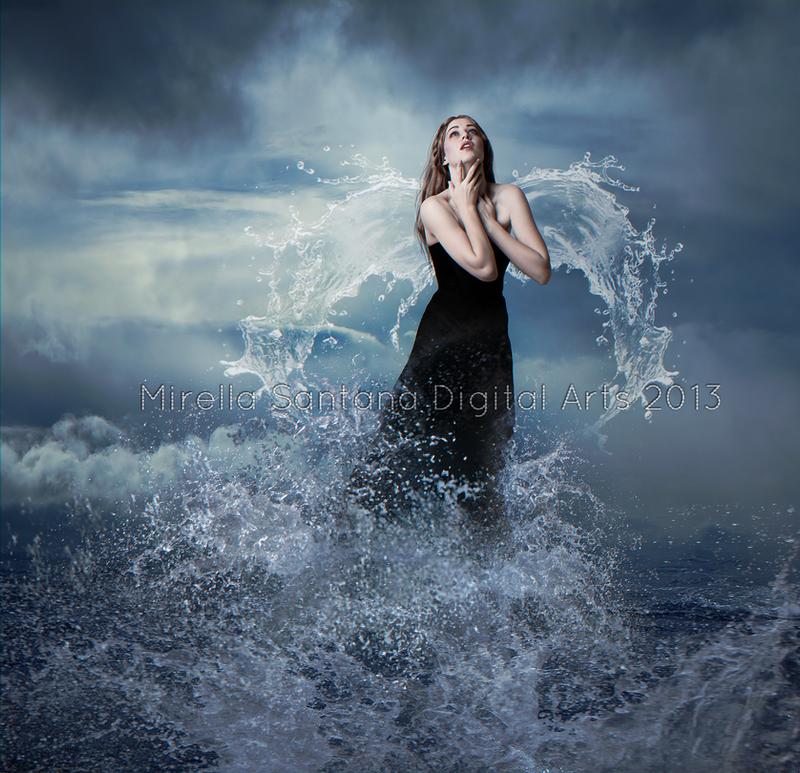 Ocean Angel by MirellaSantana