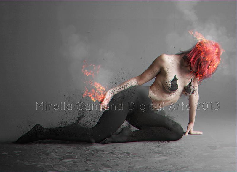 GIRL ON FIRE by MirellaSantana