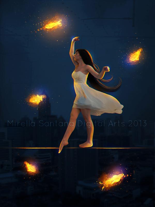 DANCES FISH by MirellaSantana