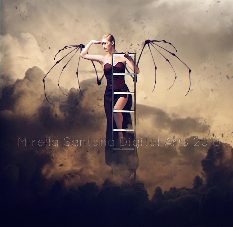 I think I can fly by MirellaSantana