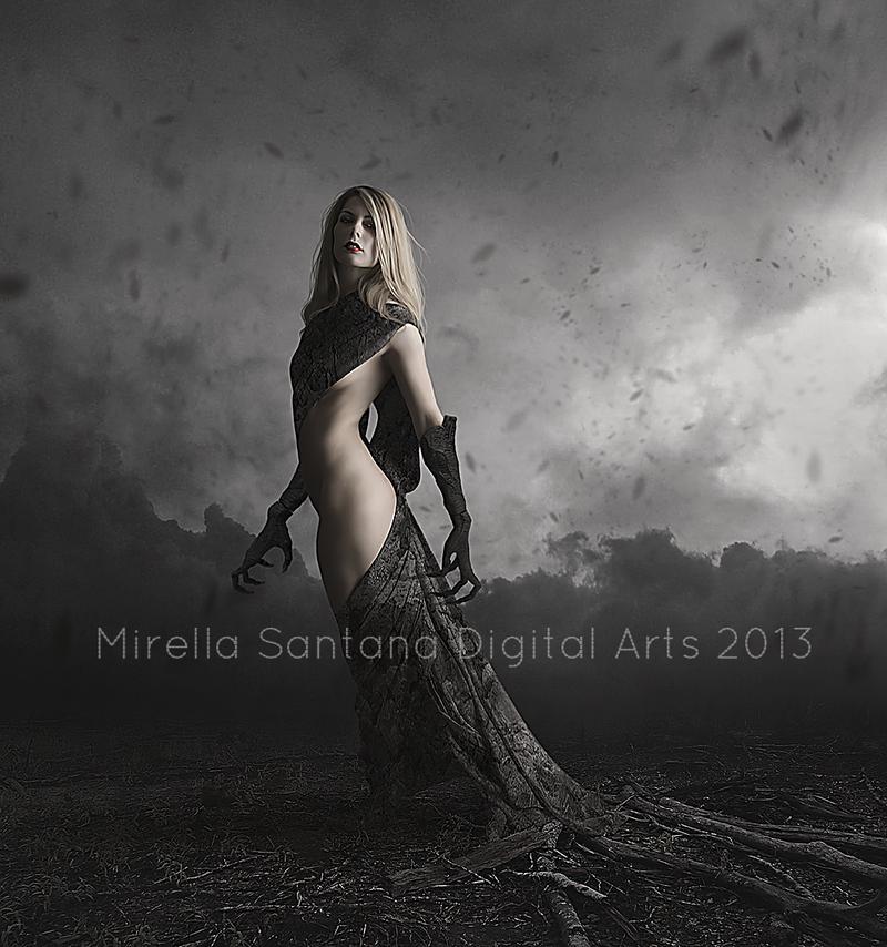 EVIL CREATURE by MirellaSantana