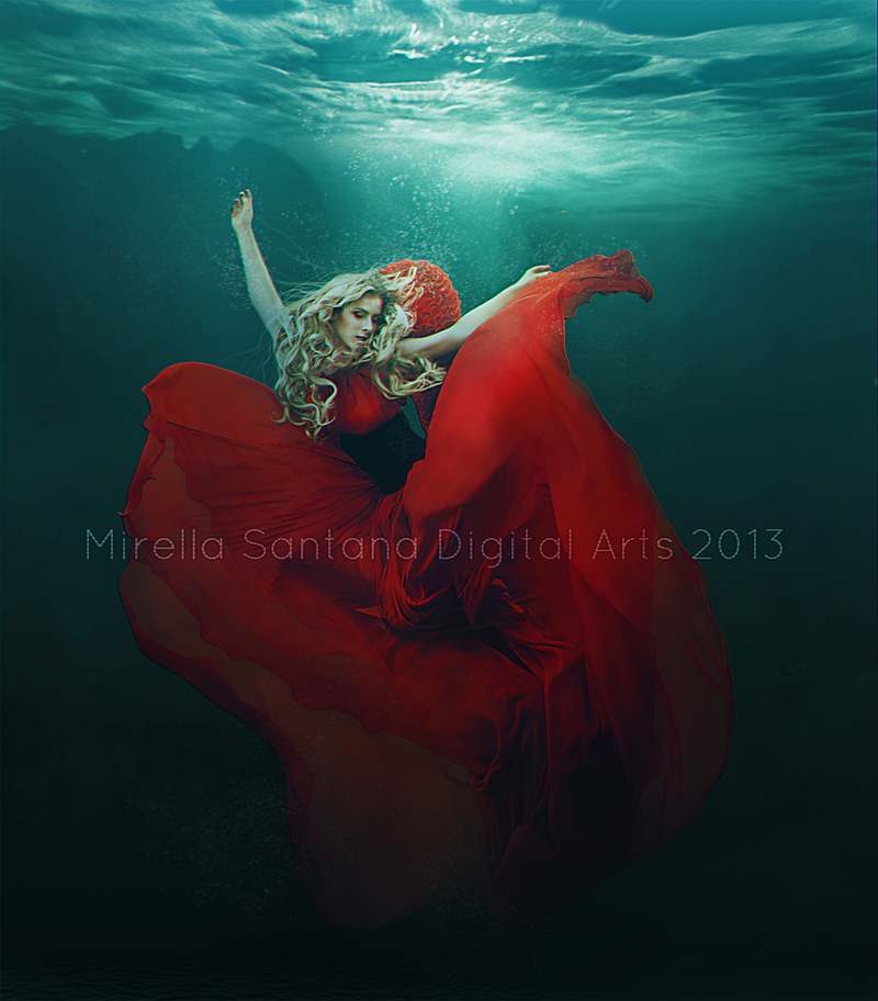 Dark Water III by MirellaSantana