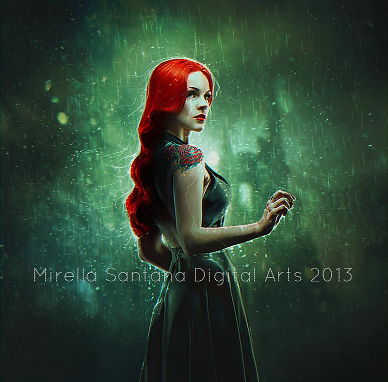 SAD RAIN II by MirellaSantana
