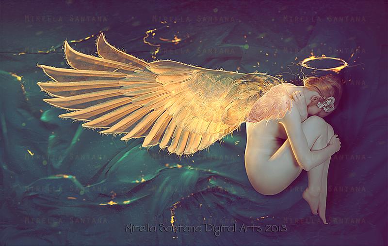 Sleep Well My Angel by MirellaSantana