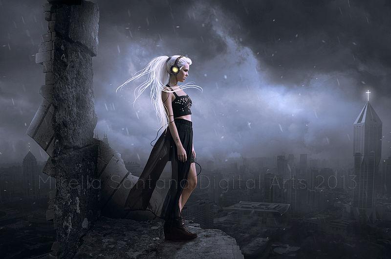 Playing in the Dark by MirellaSantana