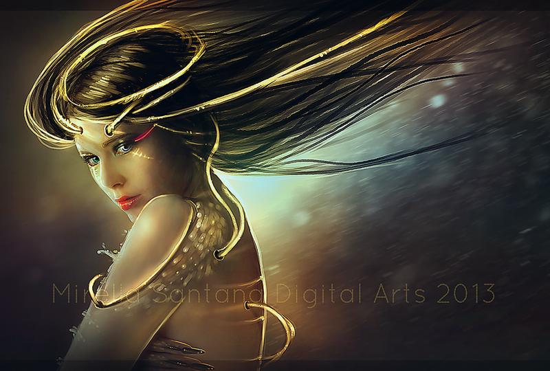 Golden Blood by MirellaSantana