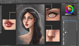 Practice of Painting - Training face