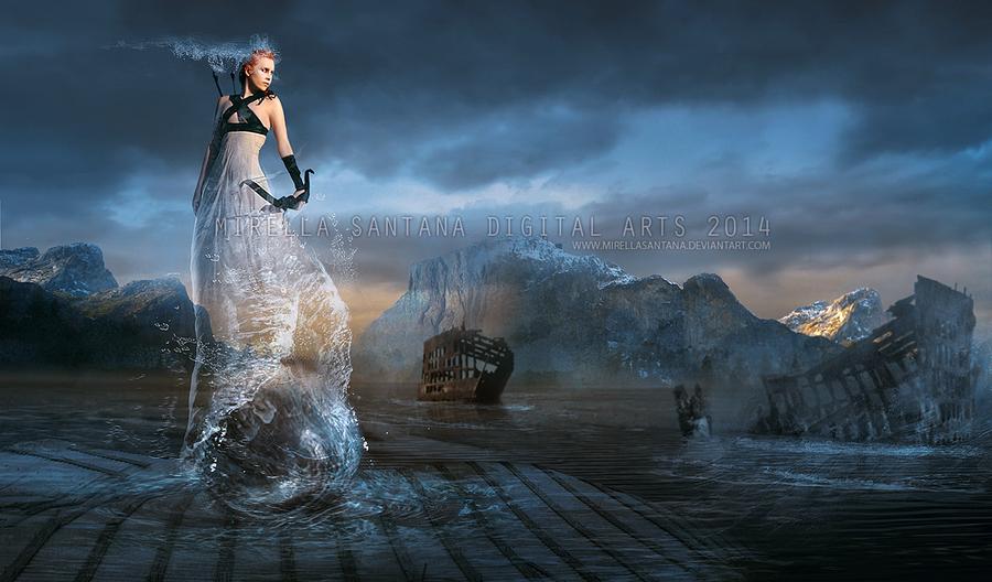 The Sea Goddess by MirellaSantana