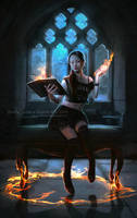 Young Witch by MirellaSantana