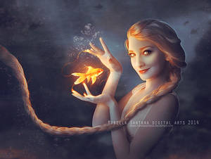 Elsa and Goldfish (version)