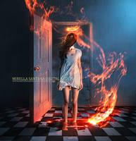 Between heaven and hell by MirellaSantana
