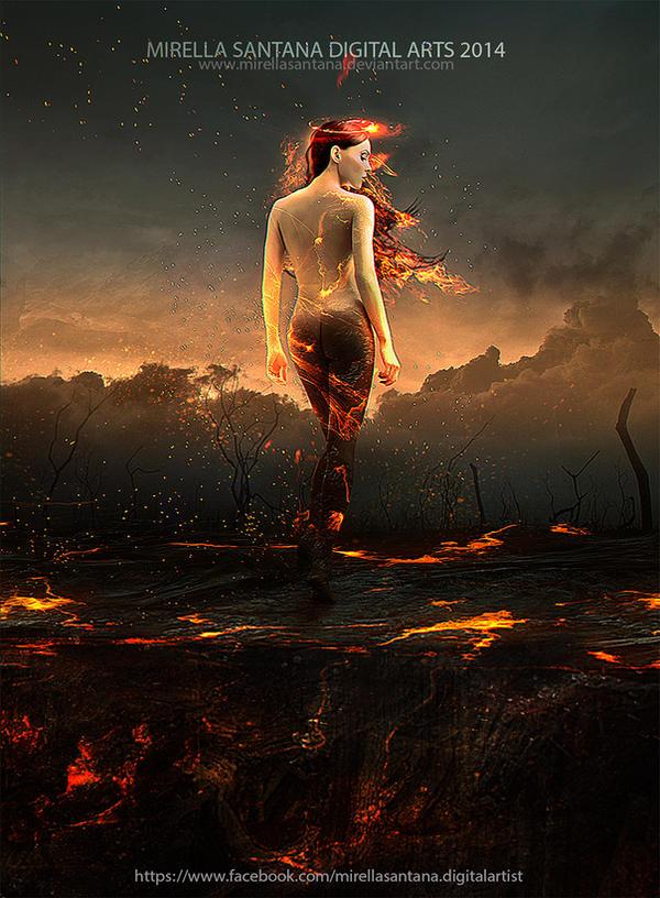 Soul on fire by MirellaSantana
