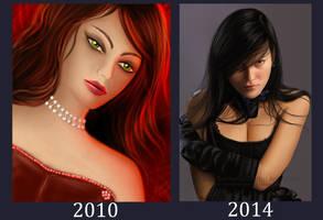 My evolution (2010 - 2014)