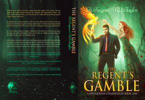 Book Cover - The Regents Gamble by MirellaSantana