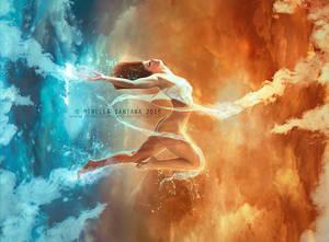 In The Clouds by MirellaSantana