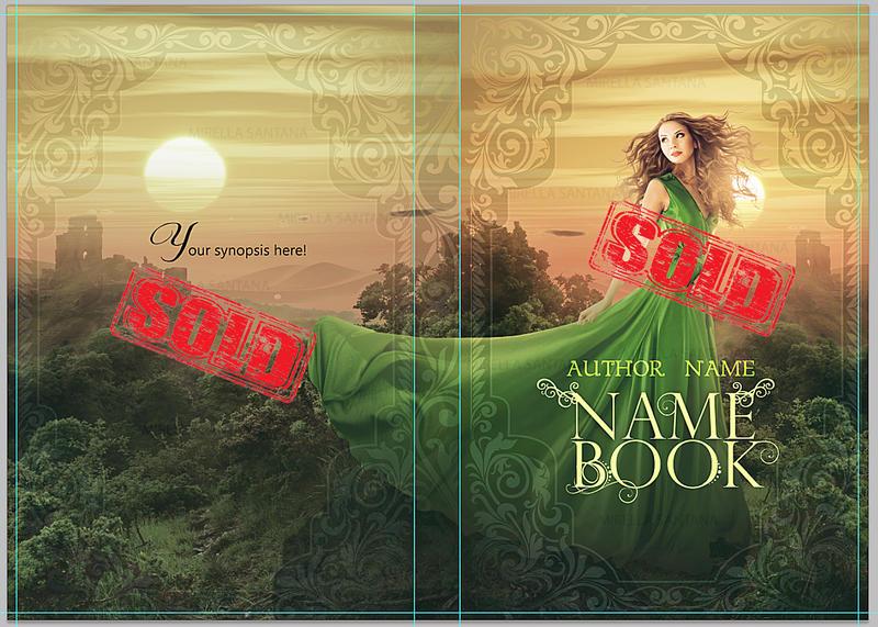 Book cover - for sale IX by MirellaSantana