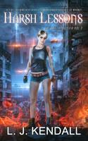 Book Cover II - Harsh Lessons by MirellaSantana