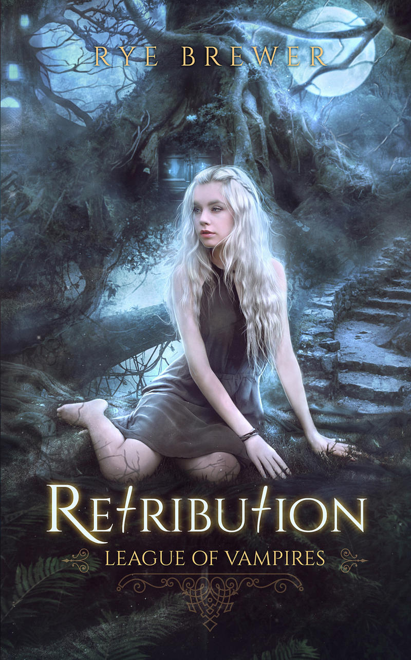 Vampire Book Cover Art ~ Book cover iv retribution by mirellasantana on deviantart