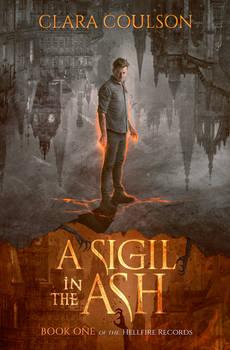 Book Cover I -  A sigil in the Ash