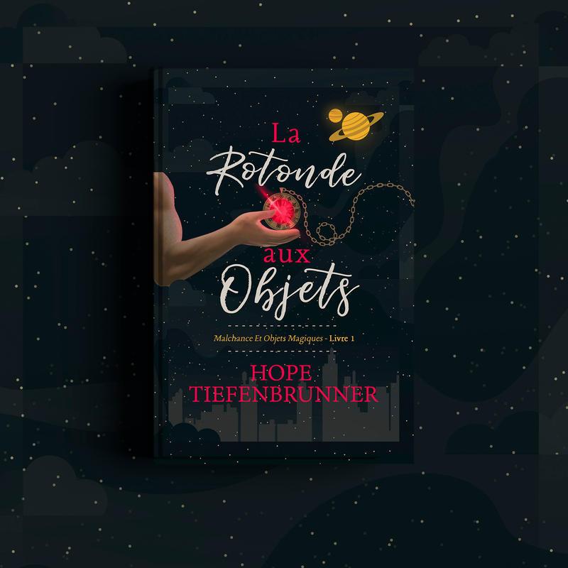 Book Cover I - La Rotonde Aux Objets by MirellaSantana