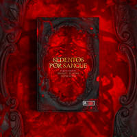 Book cover - Sedentos por sangue by MirellaSantana