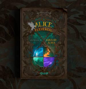 Book Cover - Alice e o templo elemental