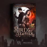 Book Cover - Birds Of A Feather by MirellaSantana