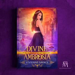 Book Cover I - Divine Ambrosia by MirellaSantana