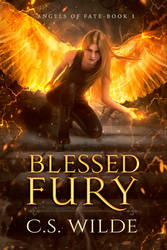 Book Cover - Blessed Fury by MirellaSantana