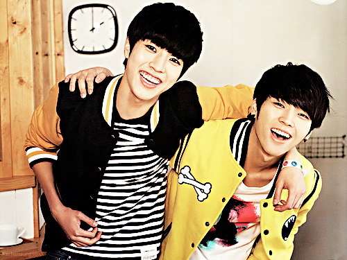 sungyeol and woohyun by NanlliA98 on DeviantArt