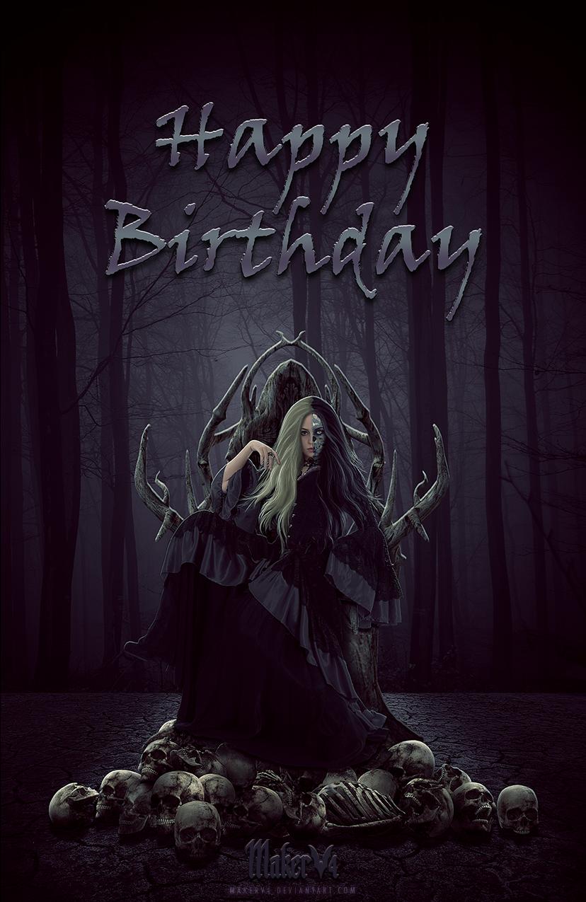 Hel Birthday Card