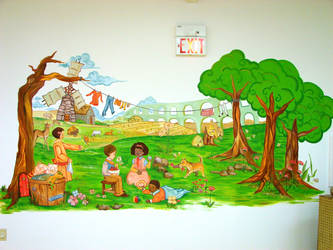 Mural 1 - Day Care by LinkOni