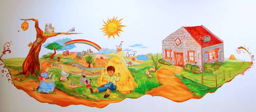 Mural A- Day Care by LinkOni