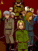 Hetalia: Warsaw Pact by PunPuniChu