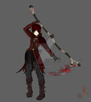 RWBY X Bloodborne - Blood Rose Hunter