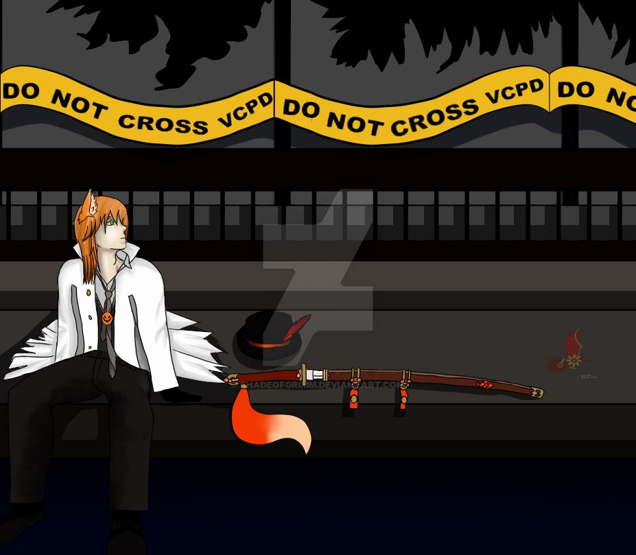 RWBY OC - Draden Torchwick Commission by ShadeofGrimm on